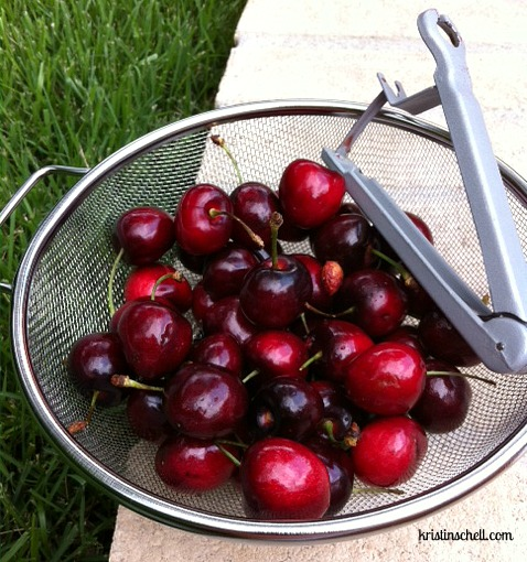 Spiced Cherry Compote - The Turquoise Table