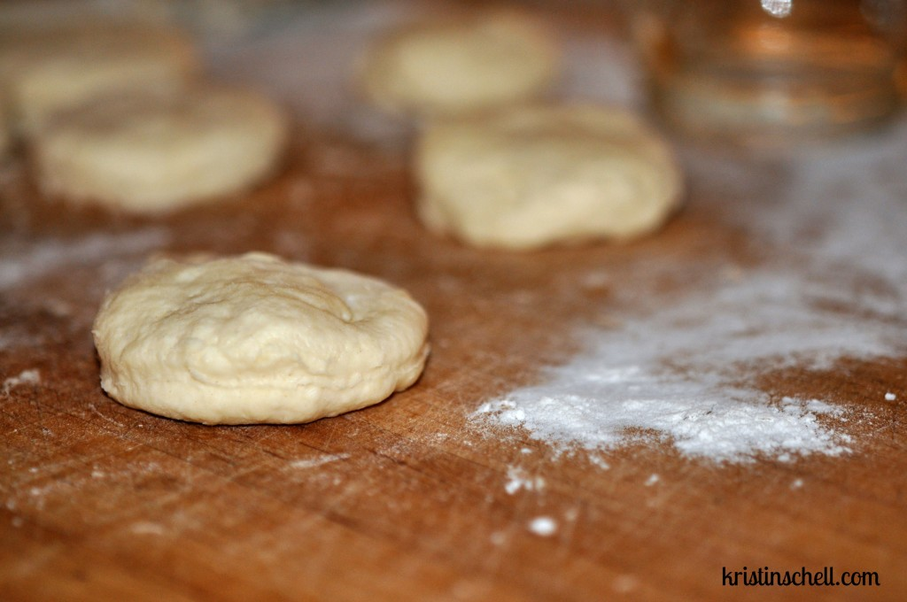Christmas Biscuits Before Baking WM