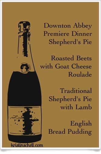 Downton Abbey Premiere Dinner Shepherd's Pie WM