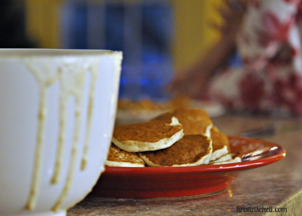 Pancakes and Sabbath Moments