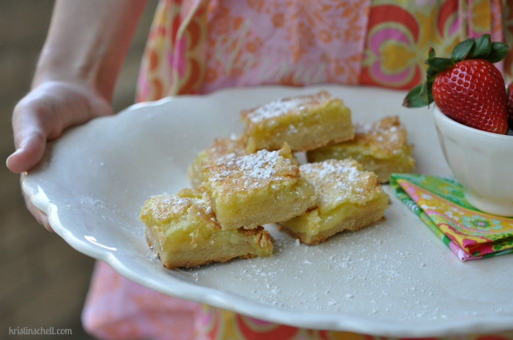 52 Sunday Suppers Lemon Bars