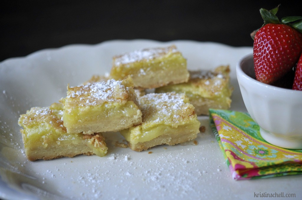 52 Sunday Suppers Anna's Lemon Bars