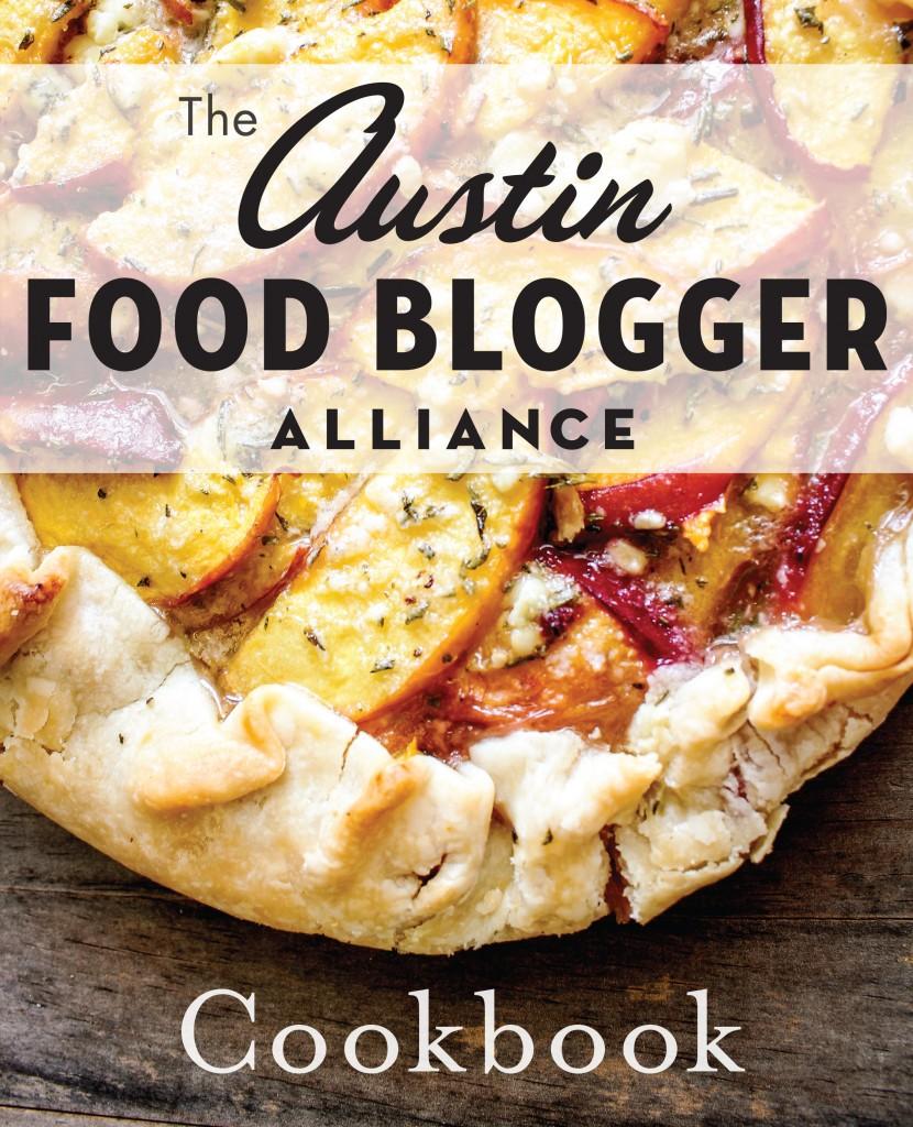 Austin Food Blogger Alliance Community Cookbook Cover