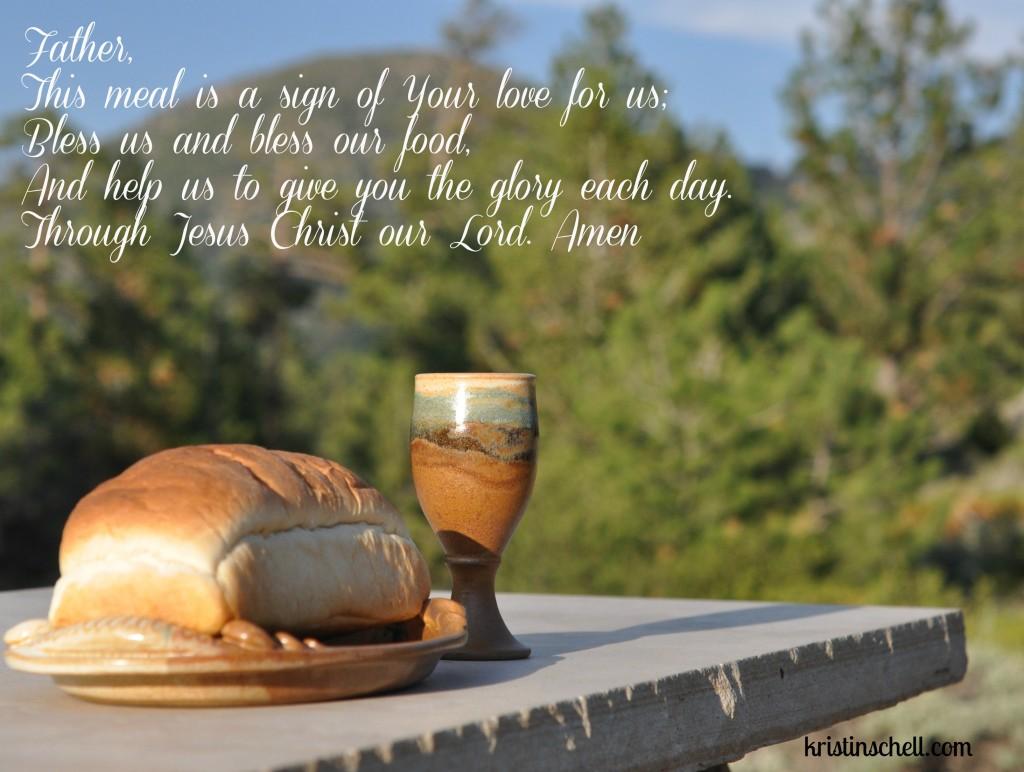 Communion Mealtime Prayers WM