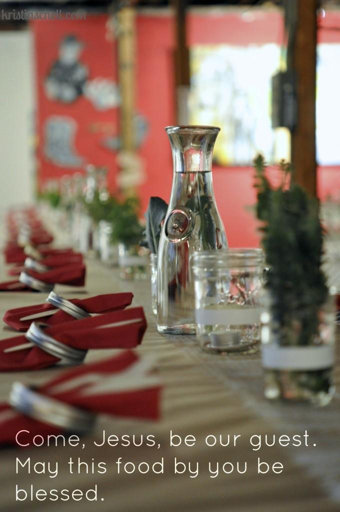 Longhouse Food Revival Mealtime Prayers WM2