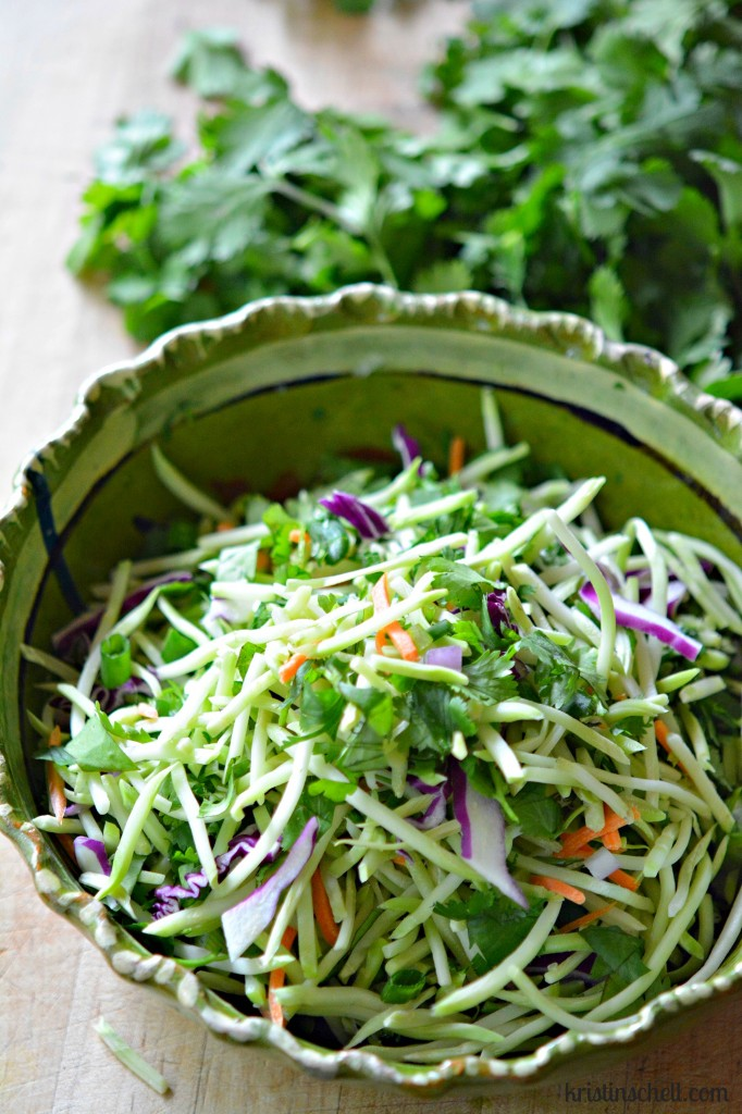 Healthy Summer Coleslaw recipe