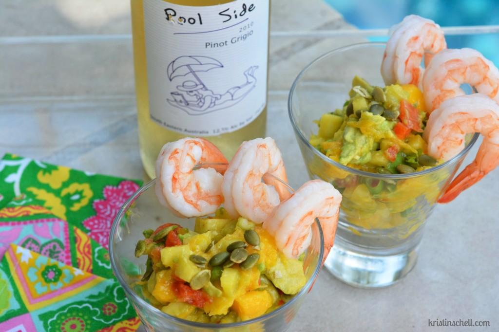 PoolSide Shrimp Mango Salsa WM