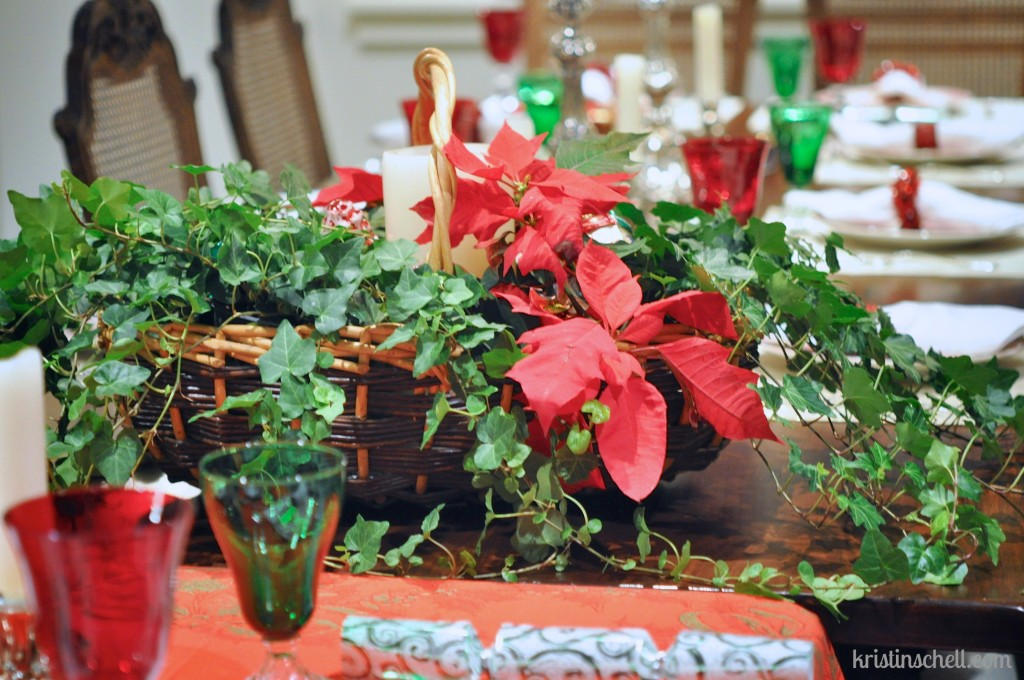 Christmas Table 31 Days of Outrageous Hospitality with Kristin Schell