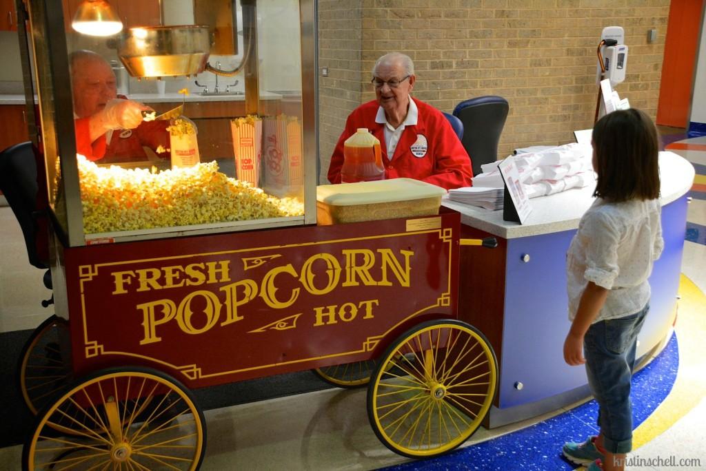 Fresh Popcorn at Scottish Rite WM