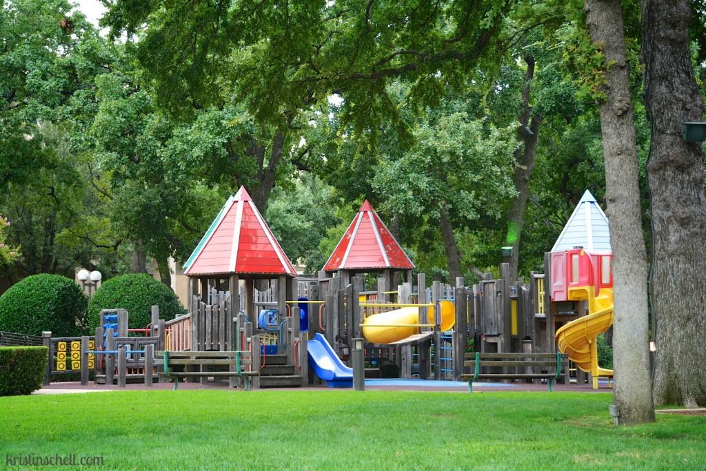 Playground at Scottish Rite Hospital in Dallas by Kristin Schell