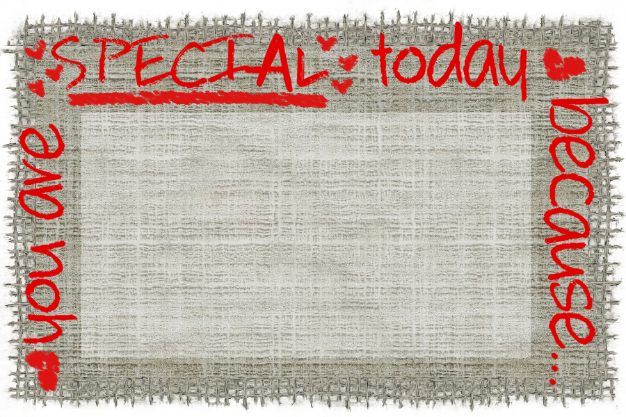 You Are Special Place Cards {printables}   31 Days of Outrageous Hospitality with Kristin Schell