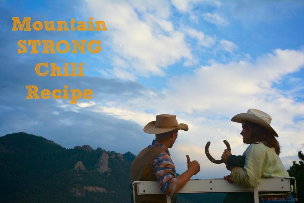 Mountain Strong Chili Recipe   kristinschell.com