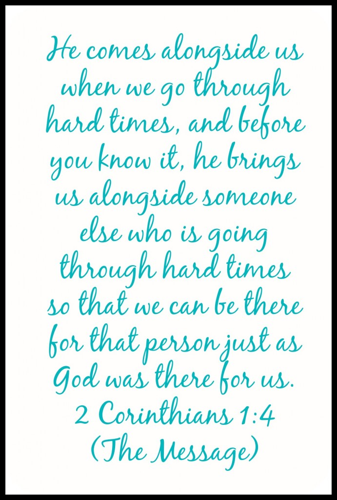 2 Corinthians 1:4 | Providing Comfort for Others During Times of Trouble and Need