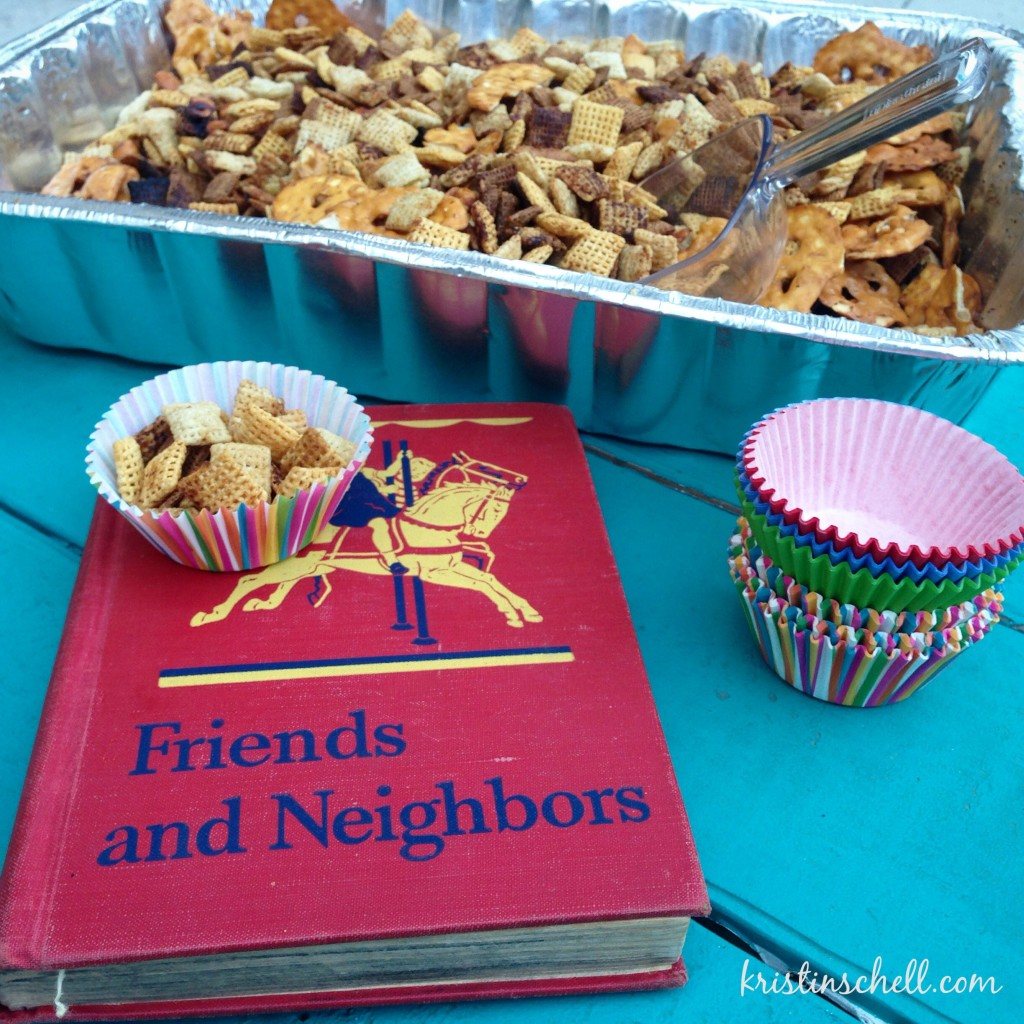 Homemade Chex Mix | recipes for gathering | kristinschell.com