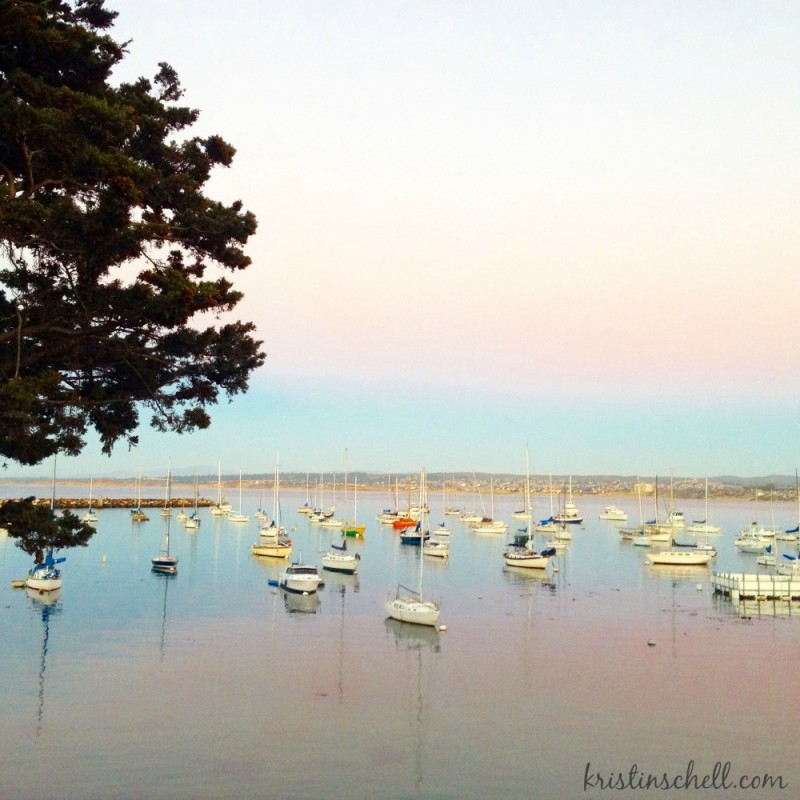 Sunset at Monterey Bay, California   kristinschell.com