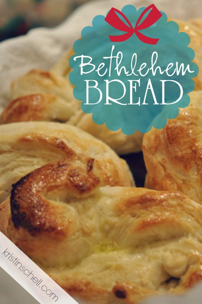 "Do you know the word Bethlehem means ""house of bread"" in Hebrew? Here is a delicious and fun recipe that's easy to make with your kids. Trying making your own Bethlehem Bread!"