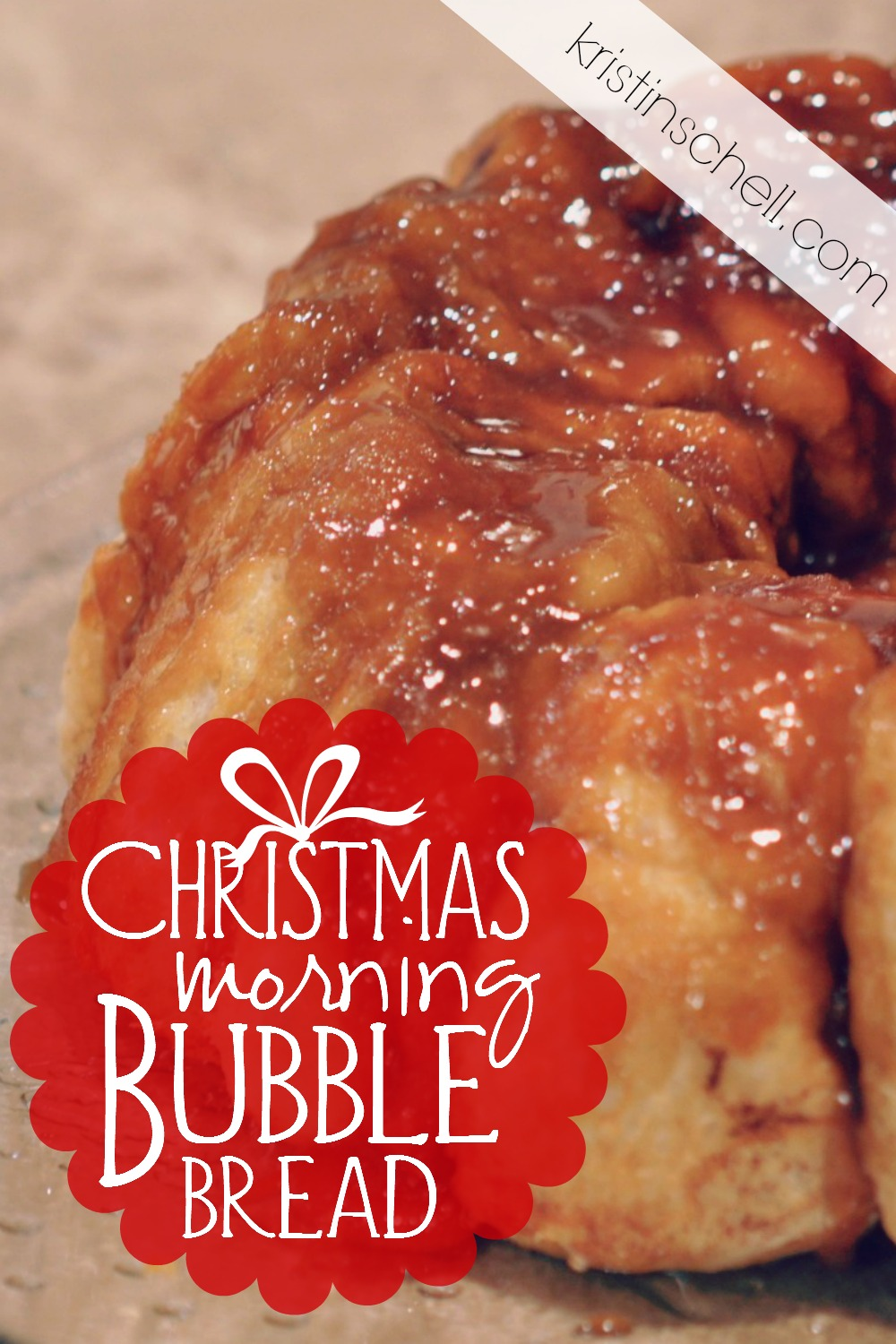 Christmas morning Bubble Bread is a must have at our house every year! This holiday tradition does not take long to prepare, and all the kids look so forward to Santa's arrival and bubble bread on Christmas morning!