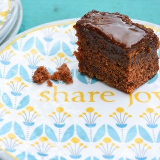 Chocolate Fudge Sheet Cake Recipe | kristinschell.com