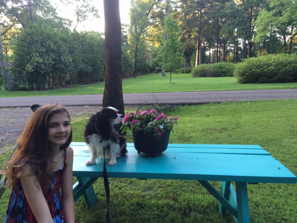 Debbie Lloyd Shreveport Turquoise Table 2
