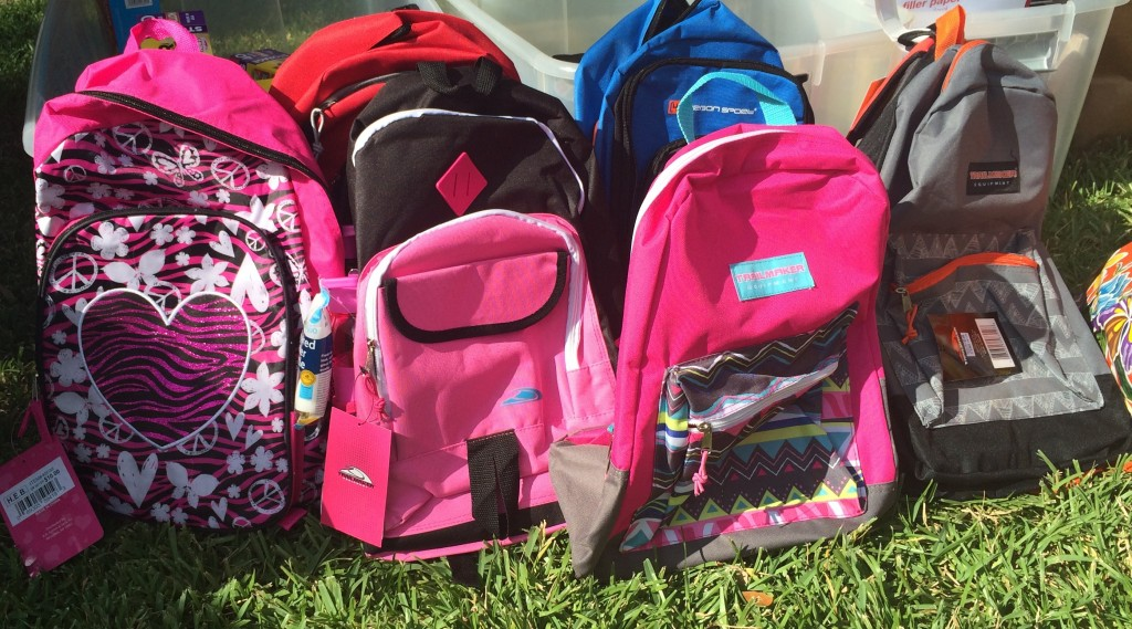 Back to school supply drive at the turquoise table for Austin area refugees | The Turquoise Table | kristinschell.com