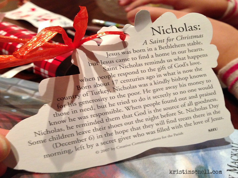 Celebrate St Nicholas Day in Your Neighborhood Front Yard People kristinschell.com
