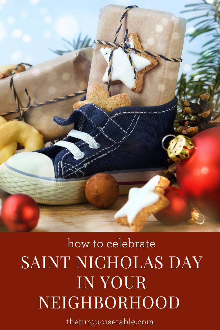 Celebrate Saint Nicholas Day in Your Neighborhood   theturquoisetable.com