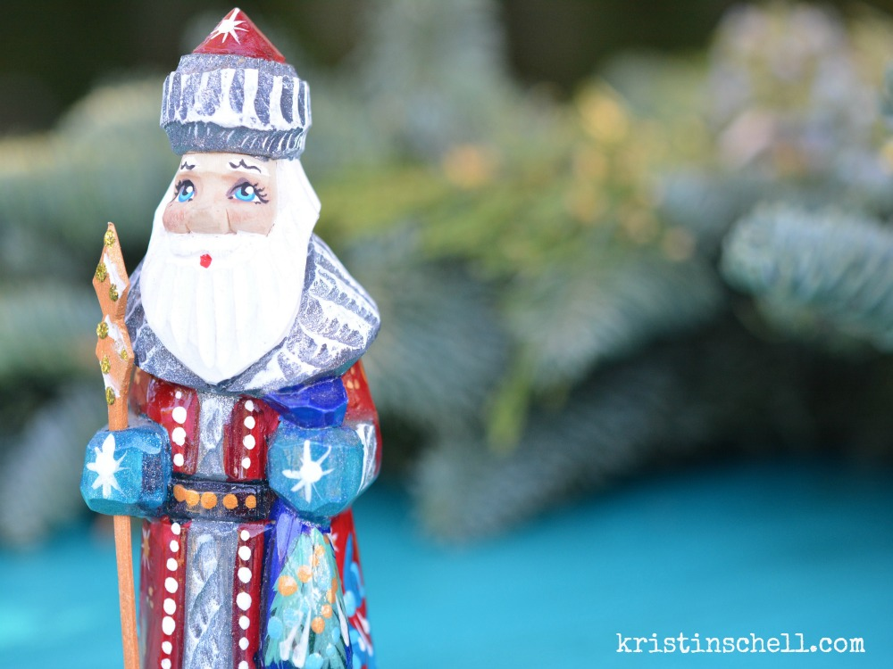 Celebrate St. Nicholas Day in Your Neighborhood #FrontYardPeople #TheTurquoiseTable   kristinschell.com