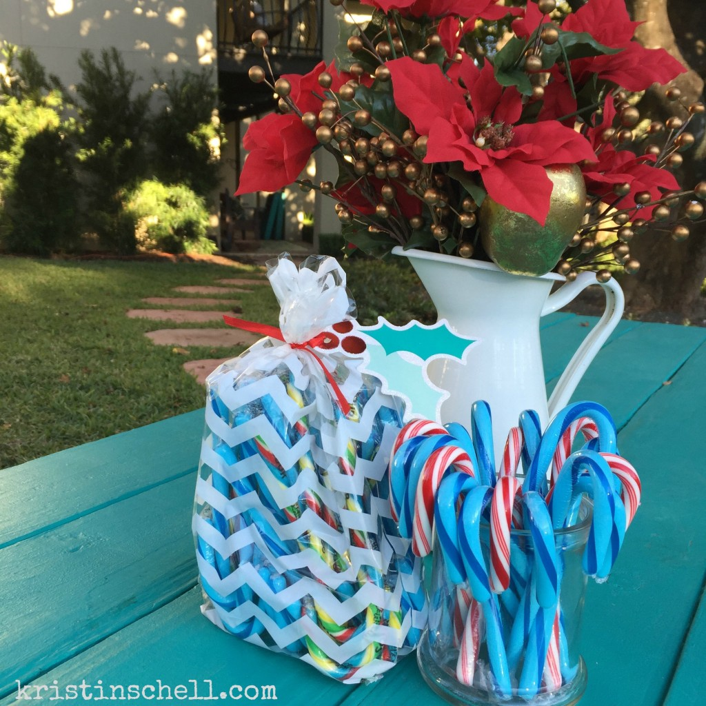 Turquoise Candy Canes | kristinschell.com