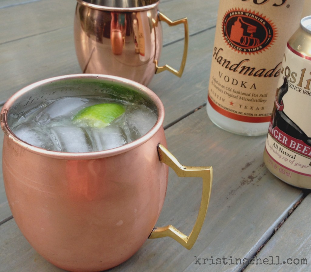 Moscow Mule | Bring Back the Cocktail Party | kristinschell.com