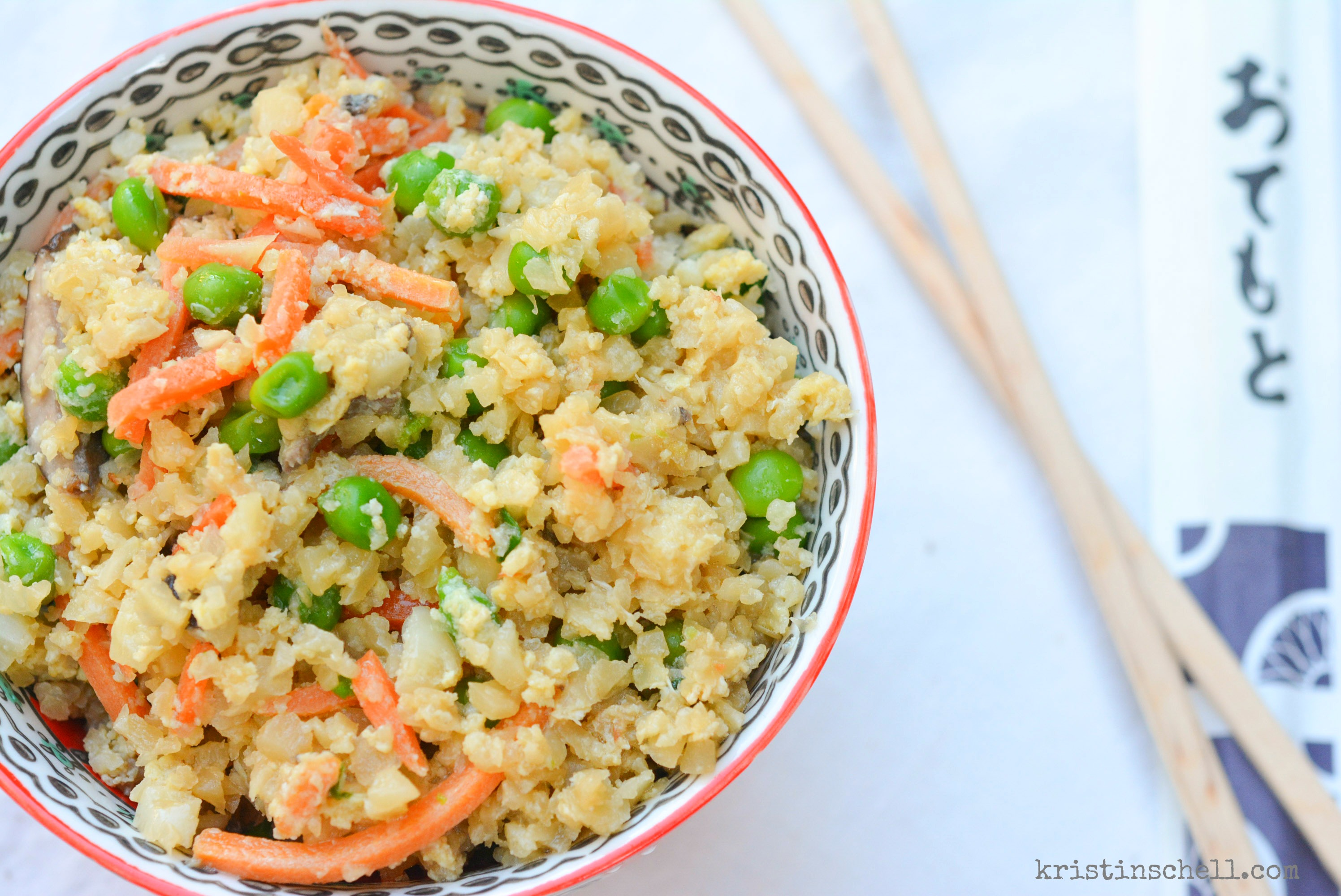 Stir Fry Cauliflower Rice The Turquoise Table