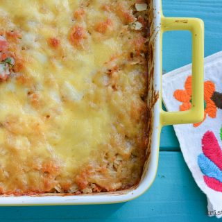 5 Ingredient Tex-Mex Casserole | Our go-to easy, one dish supper | kristinschell.com