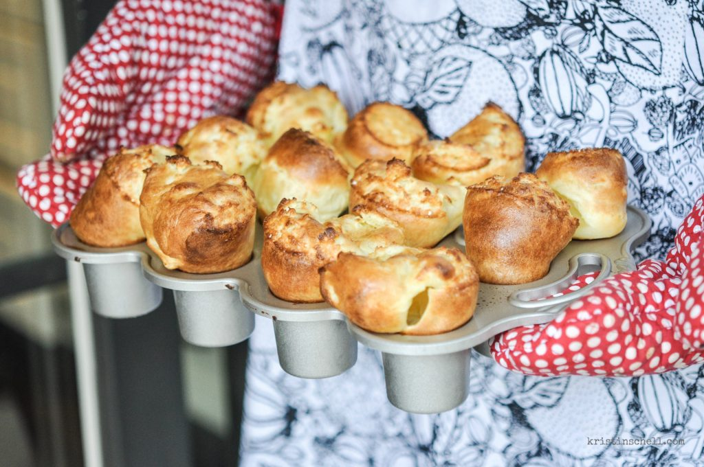 How to Make Magical Popover Rolls