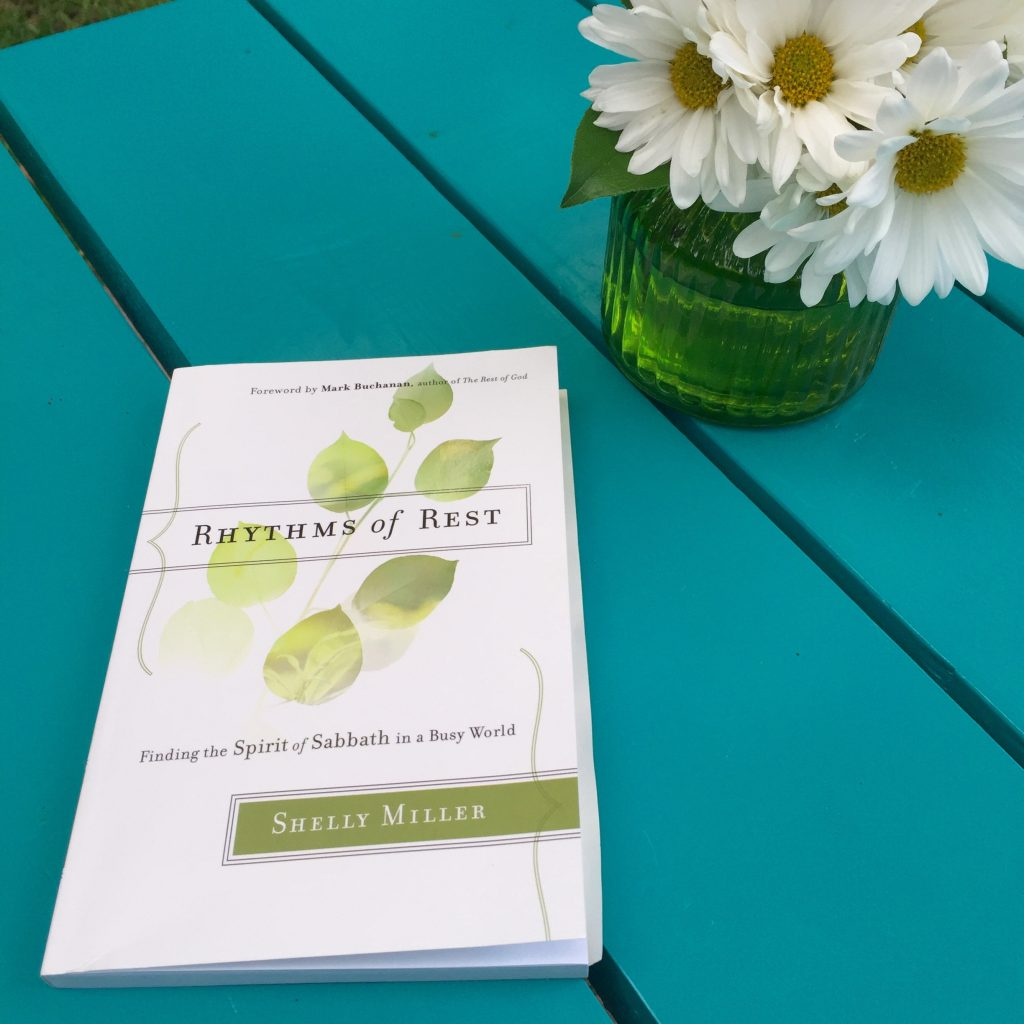 Rhythms of Rest by Shelly Miller at the Turquoise Table | kristinschell.com