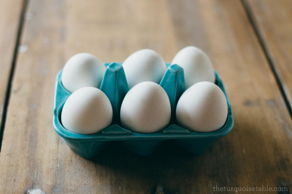 How to Hard-Boil the Perfect Eggs www.theturquoisetable.com