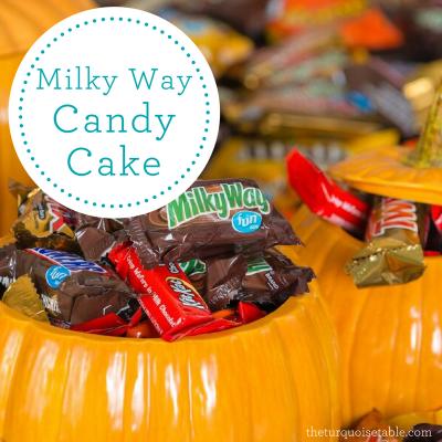 Milky Way Candy Cake
