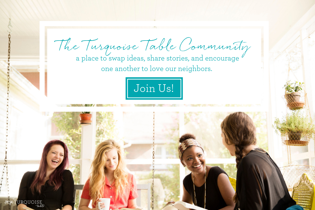 Join The Turquoise Table Community