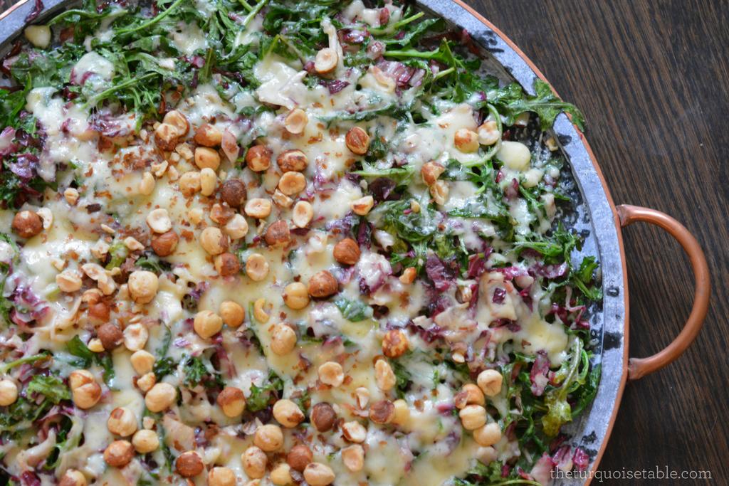 Warm Arugula & Fontina Salad