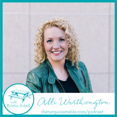 "S1:E19 Slow Down and ""Live Happy."" Alli Worthington Shows Us How"