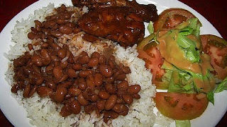 La Bandera A Traditional Dish From The Dominican Republic The