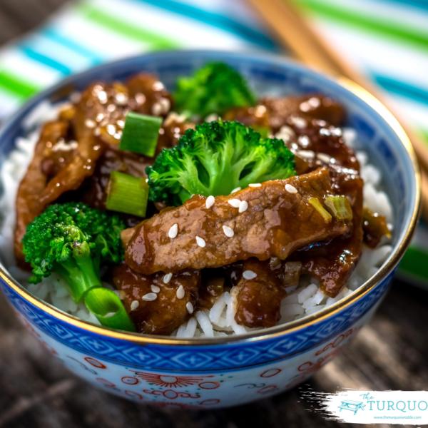 Spicy Chinese Stir Fry with Beef & Cauliflower