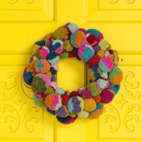 Noonday Pompom Wreath - The 2019 Turquoise Table Gift Guide