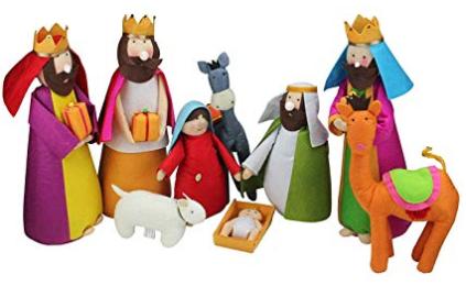 Family Felt Nativity Set