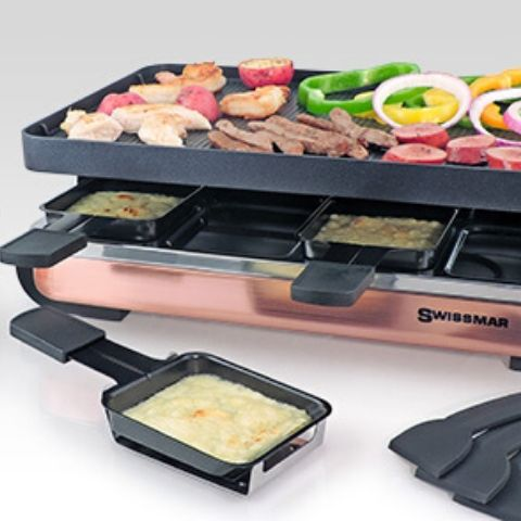 Swiss Raclette Party Grill - The 2019 Turquoise Table Gift Guide