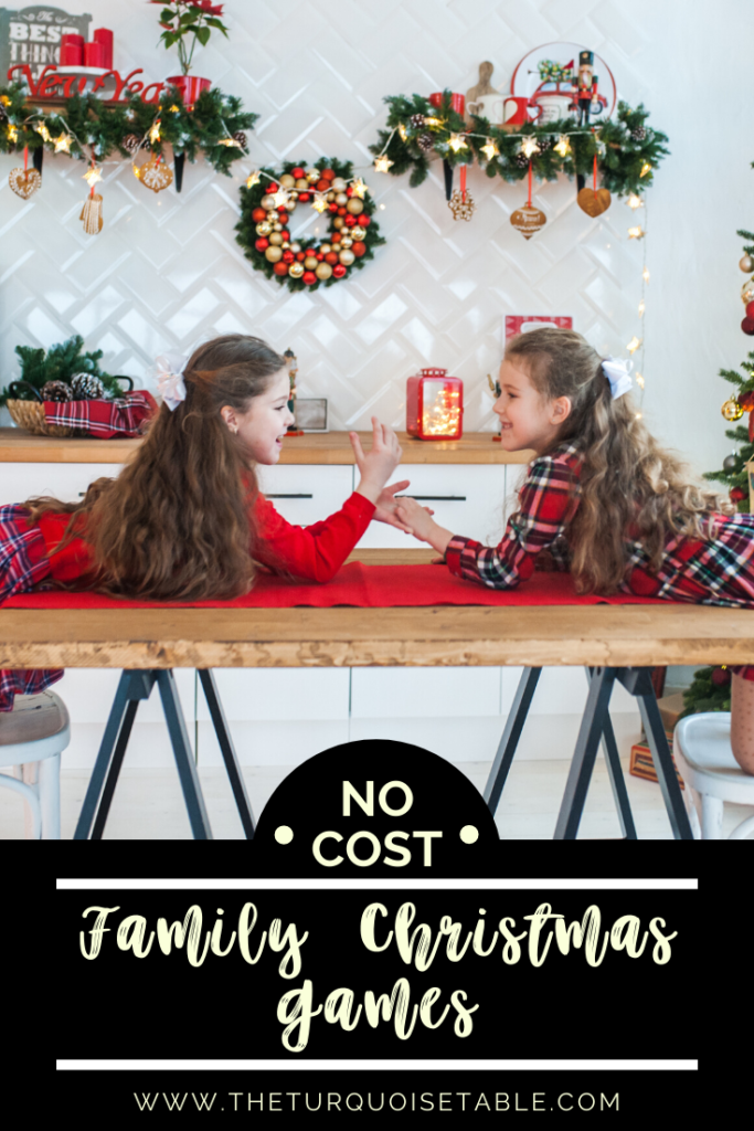 No Cost Family Christmas Games from The Turquoise Table | www.theturquoisetable.com