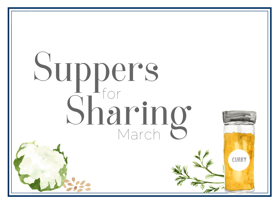 March Suppers for Sharing